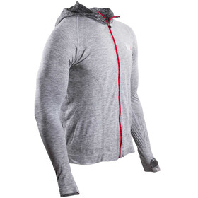 Compressport 3D Thermo Seamless - T-shirt manches longues running - gris